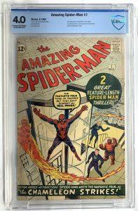 AMAZING SPIDER-MAN #1, CBCS 4.0