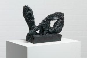 Per Kirkeby, Model: Two Arms, 1981. Patinated bronze, 91 x 38 x 42 cm. Louisiana Museum of Modern Art. Photo: Poul Buchard / Brøndum & Co. © Per Kirkeby Estate.