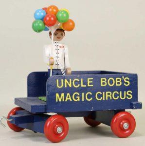 UNCLE BOB'S MAGIC CIRCUS TRAIN CAR