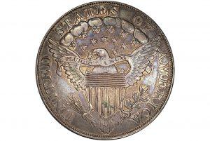 A rare 1804 silver dollar