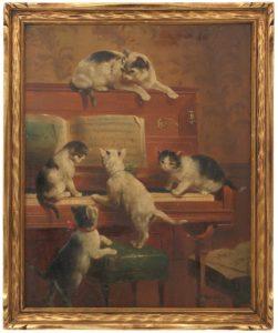 R. Ogwus, Kittens on the Keys