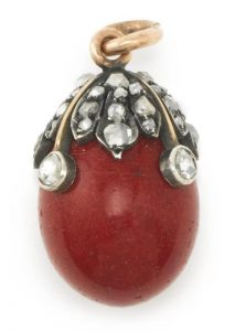 Purpurine egg from the McFerrin Collection