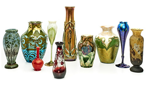 Pieces available in Treadway's upcoming auction. Photo courtesy of Treadway.