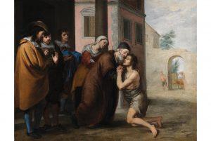 Bartolomé Esteban Murillo (1617-1682), The Return of the Prodigal Son,