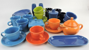Fiestaware available in Strawser's upcoming Fiesta Auction. Photo by Strawser Auction Group.
