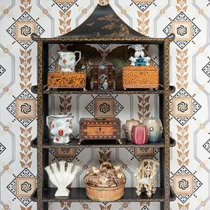 Objects, Treasures & Trifles from The Collection of Mario Buatta Stair