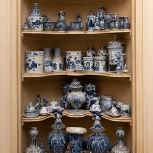 Ceramics from The Collection of Mario Buatta Stair