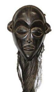 Rare African Chokwe Pwo Mask, Angola- DR Congo