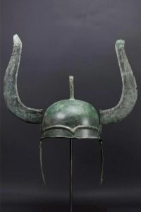 Greek bronze winged helmet, Late Classical of Chalcidian type, circa 400 BC