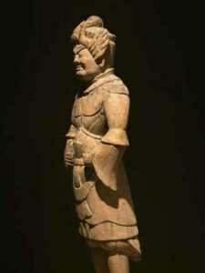 Gozu Tenno. God of warding against pestilence. Late Heian period, 12th century