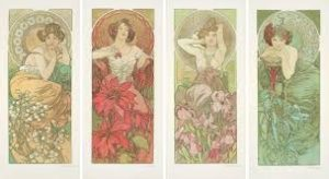 Alphonse Mucha, Precious Stones, 1902 ($192,000)