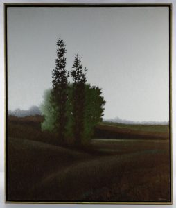 Robert Kipniss (American, b.1931) 'Three Trees' Oil on Canvas