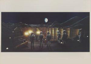 A SPACE ODYSSEY (1968) INTERNATIONAL ROADSHOW POSTER, ITALIAN