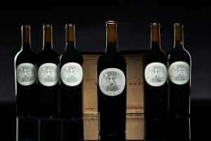 LOT 13 Harlan Estate 2001 6 bottles per lot. Estimate: $4,000-6,000. © Christie's Images Ltd 2020.