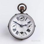 Triple Calendar Paperweight Clock