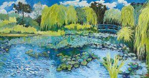 Pang Jiun, Monet's Garden