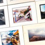 10 CONTEMPORARY MATTE FRAMED PHOTOGRAPHIC ART PRINTS