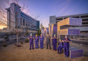 Laura Kimpton's LOVE Sculpture Comes to Renown Health Hospital in Reno, Nevada
