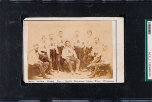 Rare 1868 Brooklyn Atlantics trade card to be auctioned