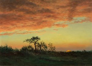 Sunset View by Albert Bierstadt highlights Doyle's Online-Only Auction of American Paintings, Furniture & Decorative Arts