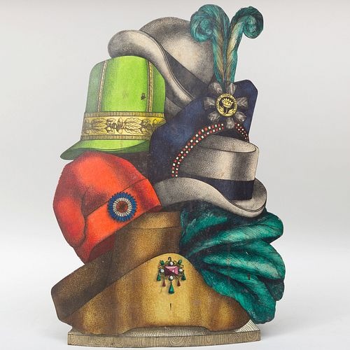Cappelli umbrella stand by Piero Fornasetti. Photo by Stair Galleries.