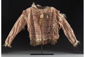 A Nez Perce or Blackfeet Bear Warrior Society Shirt (estimate: $20,000-30,000).