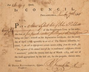 Benjamin Franklin Pay Document Signed Heritage Auctions