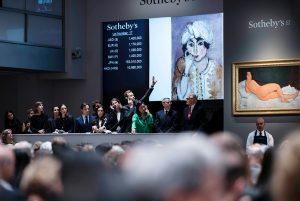 Evolve or perish Virus reshaping art auction market