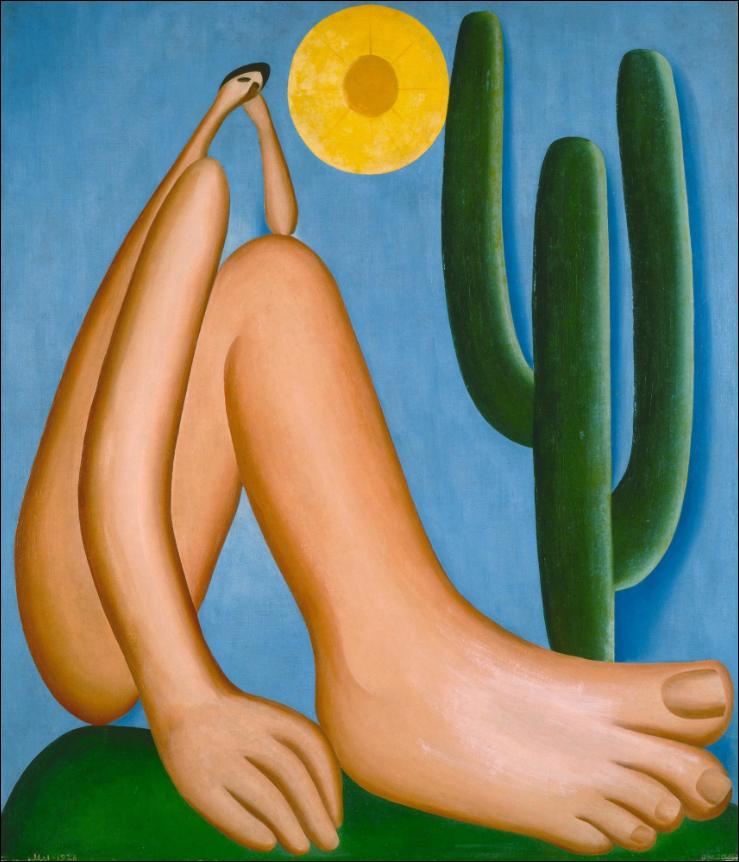 Abaporu. 1928. Tarsila do Amaral. Image from the Museum of Modern Art.