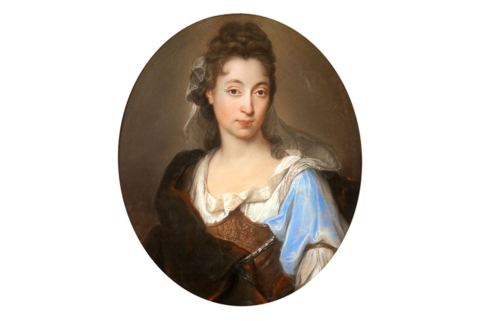 Portrait of a Lady shown in the guise of Minerva by Joseph Vivien, sold privately for £17,000.