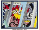 Rare Lichtenstein Screenprint From Reflection Series Headed to Heritage's Prints and Multiples Auction