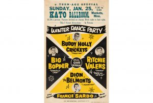 Ultra-rare Winter Dance Party Tour poster offered in Heritage Auctions' Entertainment & Music Memorabilia Auction