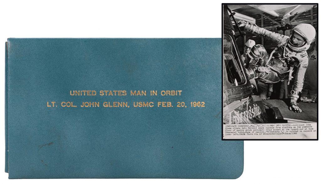John Glenn Orbiting Earth Photo Album