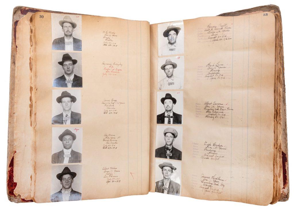 Folsom Prison Mugshot Book