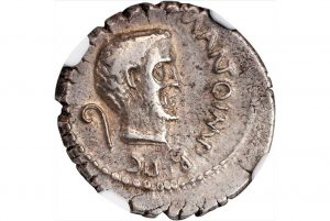 Coins from thousands of years ago being auctioned
