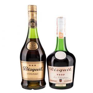 Bisquit. V.S.O.P. Cognac. Francia. Total de Piezas- 2