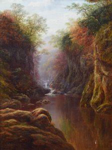 WILLIAM MELLOR (United Kingdom, 1851-1931) oil on