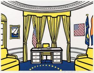 Roy Lichtenstein (American, 1923-1997) The Oval Office