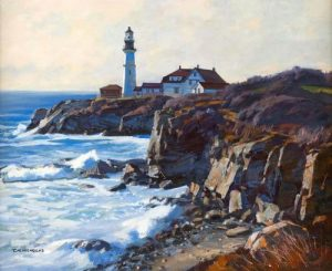 American Paintings Auction At Eldred's Features Two Private Collections