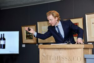 Strauss & Co combined auction success during Covid 19 affirms support for the arts and fine wine