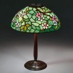 Tiffany Studios, Apple Blossom table lamp