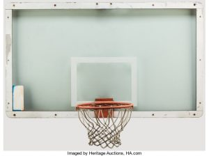 Heritage Auctions Offers Once-in-a-Lifetime Chance to Score Hoop on Which Michael Jordan Made Iconic 'Shot' in 1989