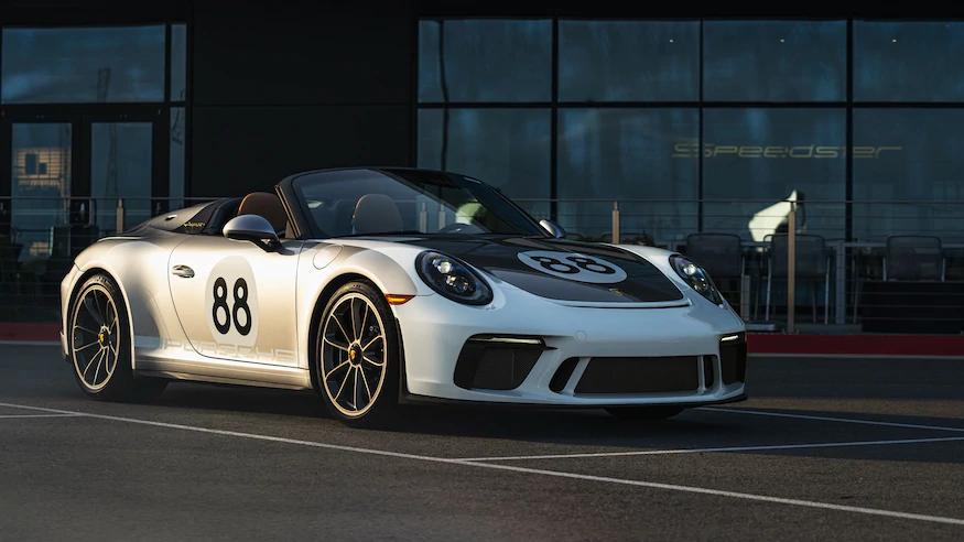 Porsche 911 Speedster sold through RM Sotheby's. Image from Automobile Magazine.