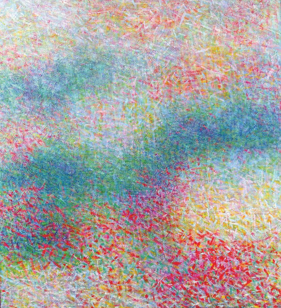 Colorfield by Leonard Nelson. Photo courtesy of Gratz Gallery.