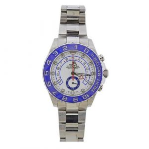 Rolex Yacht Master II Blue Bezel Steel Watch ref. 116680