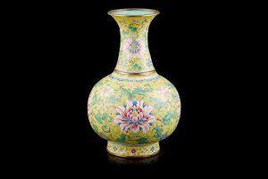 Lockdown auction held behind closed doors includes £45,000 Beijing enamel vase