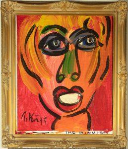 Peter Keil (German, B.1942) The Miami Boy Painting