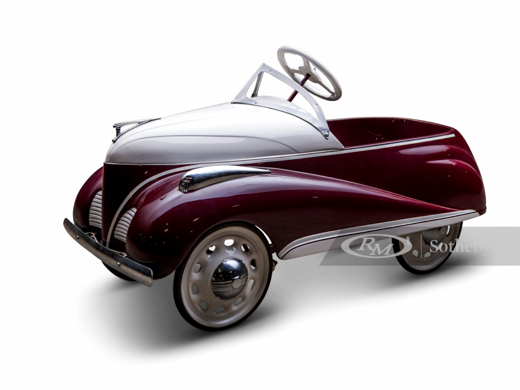 Lincoln-Zephyr pedal car. Photo from RM Sotheby's.