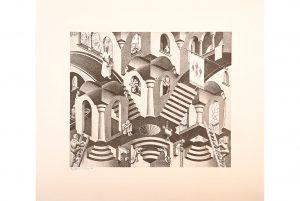 Michaan's sale features Escher, rare snuff bottles and porcelains, fine furniture and a Kashmir sapphire