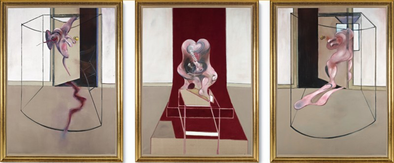 Francis Bacon, Triptych Inspired by the Oresteia of Aeschylus, 1981 Courtesy: Sotheby's